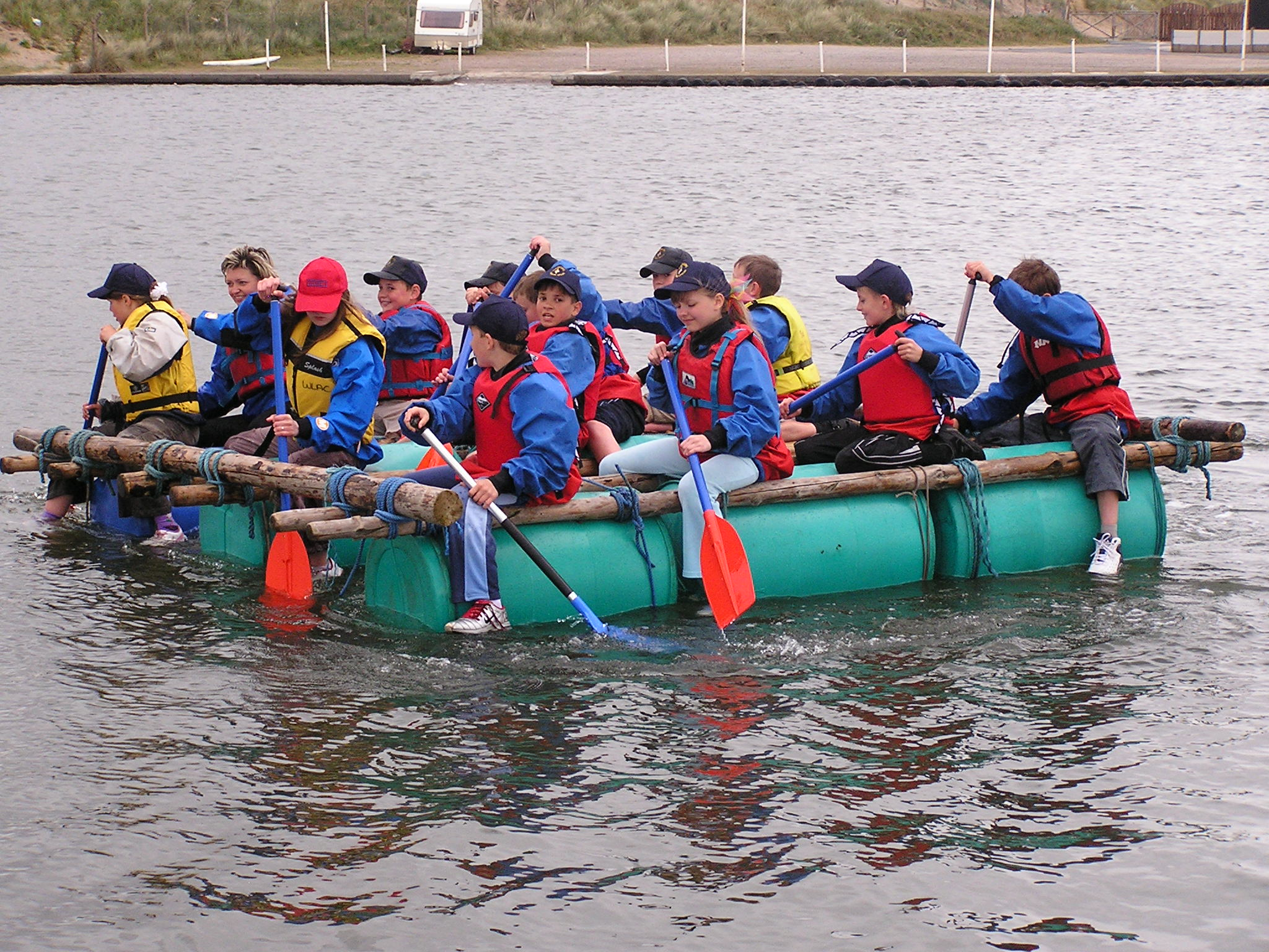 Raft Building and Team Building